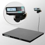 Весы «4D-P-7-1000-RP» платформенные с печатью этикеток платформа 2000х1500 мм