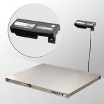 Весы «4D-P.S-2-1500-A» платформенные 1000х1250 мм  из нержавеющей стали