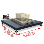 Весы платформенные «ВП» 1250х1250 мм