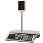 Торговые настольные весы M-ER 326ACP LED Slim