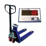 Гидравлическая тележка рохля с весами Sense SP 2 т (2000 кг)