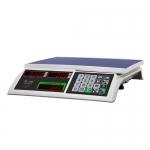 Торговые настольные весы M-ER 326AC-32.5 LED Slim белые