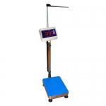 Весы медицинские «Здоровье» до 200 кг платформа 400х400 мм с ростомером