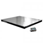 Весы «4D-P.SP-2-1500» платформенные до 1500 кг 1000х1250 мм настил нерж.сталь