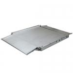 Весы «4D-LA.S-2» низкопрофильные 1000х1000 мм с пандусами из нерж. стали