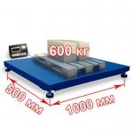 Весы «Циклоп» платформенные до 600 кг платформа 500x1000 мм