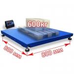 Весы «Циклоп» платформенные до 600 кг платформа 800х800 мм