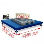 Весы «Циклоп» платформенные до 600 кг платформа 600x1000 мм