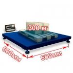 Весы «Восточный Базар 06М» платформенные до 300 кг платформа 600x600 мм