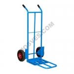 Двухколесная тележка HTT 1823 (300 кг, 410/620х300мм, колеса пневмо усиленные 250мм)