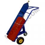 Тележка для баллонов КП-2 (250 кг, для 2 баллонов,колеса пневмо)