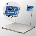 Весы нерж 4D-P.S-2-1000-AB с влагозащищённым терминалом без интерфейсов