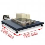 Весы платформенные «ВП» 750х750 мм