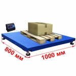 Весы платформенные 1000х800мм «Циклоп»