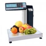 Весы с печатью этикеток и чеков торговые НПВ до 32 кг МК-R2L10-1