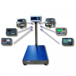 Весы торговые электронные напольные «Гулливер 15»
