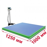 Весы «ВСП4-Т» платформенные с ограждением и стойкой 1250х1000мм