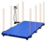 весы «всп4-ж» до 2000 кг 2000х1250 мм для взвешивания крс со стойкой Невские весы