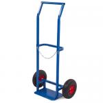Тележка для баллонов ПР-1 (150 кг, для 1 баллона, колеса литые)