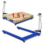 Весы «ВСП4-П» паллетные до 1,5 т (1500 кг) со стойкой