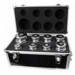 Набор гирь в чемодане класс М1 калибровочных стальных (хром)