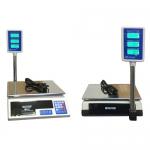 весы «базар» торговые электронные со стойкой нпв до 6 кг Мидл