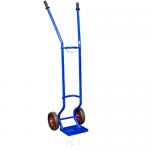 Тележка для баллонов ГБТ-1 (100 кг, для 1 газового баллона, высота 1750 мм, колеса литые)