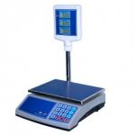 Весы торговые электронные со стойкой «Витрина 2в»