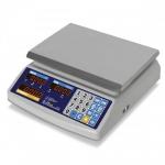 Торговые настольные весы влагозащищенные M-ER 329 AC-32.5 IP68 Fisher LED