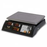 Торговые настольные весы M-ER 327AC LED Ceed II черные
