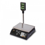 Торговые настольные весы M-ER 327ACP-15.2 LED Ceed черные