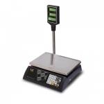 Торговые настольные весы M-ER 327ACP-32.5 LED Ceed черные