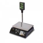 Торговые настольные весы M-ER 327ACP-32.5 LCD Ceed черные