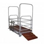 Весы механические для взвешивания скота 2200х1000 мм «ВТ 8908-Сх»