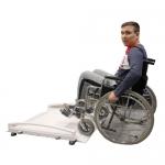 Весы-платформа для взвешивания людей в инвалидном кресле «Здоровье»