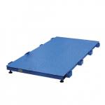 Весы «Живой вес» для взвешивания КРС до 2000 кг 2000х1000 мм без ограждения